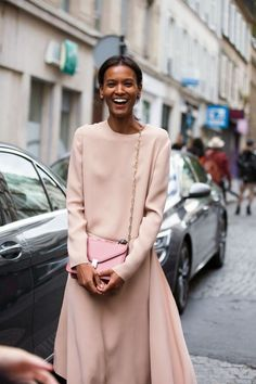 Blush pink can work in cooler temps, too!