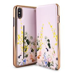 5a9809283 Ted Baker CAMIL Mirror Folio Case for iPhone 8 Plus   7 Plus   6 ...