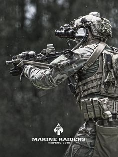 Our SOF professionals are equipped with the most high-speed technology available on the market. Military Special Forces, Military Love, Military Gear, Military Police, Usmc, Marine Corps History, Marsoc Marines, Marine Raiders, Army Infantry