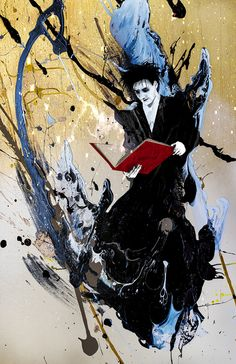The Sandman by Sean Anderson and Roya Gharavi Read More: Best Art Ever (This Week) | http://comicsalliance.com/best-art-ever-this-week-01-31-13/?trackback=tsmclip