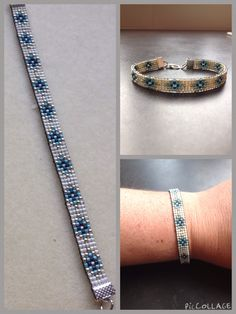 I wanted to exhibit you steps to make a bracelet with natural stone and leather thread with video. Neon Bracelets, Bead Loom Bracelets, Beaded Bracelet Patterns, Bead Loom Patterns, Woven Bracelets, Fashion Bracelets, Expensive Jewelry, Tear, Homemade Jewelry