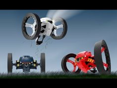 ▶ Parrot MiniDrones - Jumping Night - YouTube