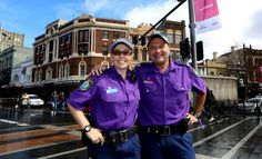 Australians from all walks of life joined in for Wear It Purple Day.