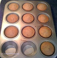Dukan Diet Recipes – Chocolate and Cinnamon Oat Bran Muffins | thedukandietsite.com