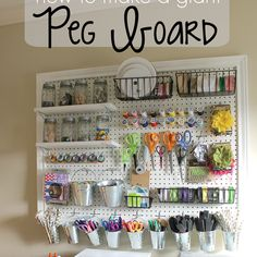 http://www.gingersnapcrafts.com/2015/01/how-to-make-giant-peg-board-tutorial.html