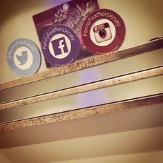 Welcoming Penny Feathers to our Salon and Barbers pinboard. Penny now has #Mirrortag social media clings installed onto all mirrors to help boost help their social following.
