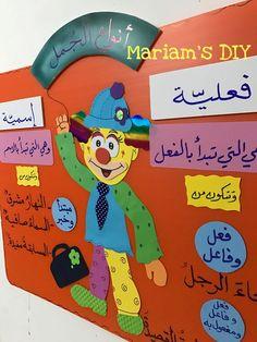 وسيلة الجملة الاسمية والفعلية #learnarabicworksheets Arabic Alphabet Letters, Learn Arabic Alphabet, Classroom Rules Poster, Senses Activities, Kids Reading Books, Arabic Lessons, Kindergarten Art, Preschool, Teaching Aids