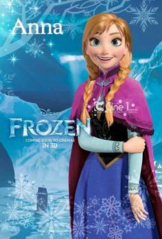 Disney Frozen, a new Disney Princess Movie that you must watch. -- This is real! Said to be out the end of this year. Kristen Bell is the voice of the new princess