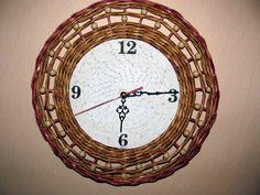 Pletené hodiny