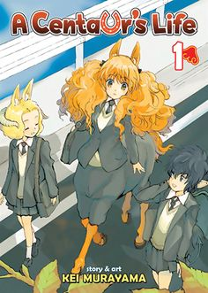 Centaur's Life, A Graphic Novel 1 #RightStuf2014