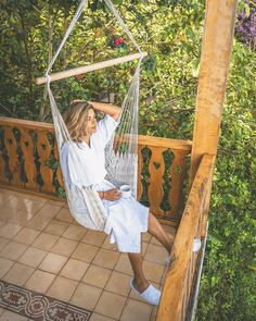 The perfect description of what starting your day on the right foot looks like! Photo Credit, Hammock, Product Description, Day, Outdoor Decor, Photos, Instagram, Pictures, Photographs
