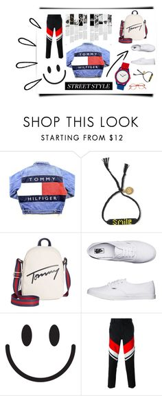 """""""Sporty Girl #1"""" by fionwzq ❤ liked on Polyvore featuring Tommy Hilfiger, Vans, Kokon To Zai, Crayo, Old Navy, StreetStyle, sporty and polyvorefashion"""