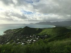 View from Pillbox in Lanikai, Oahu.