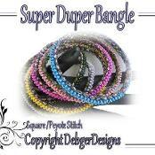Super Duper Bangle - via @Craftsy