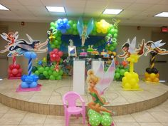 "Photo 1 of 14: Tinkerbell / Birthday ""Migdalich Birthday"" | Catch My Party"