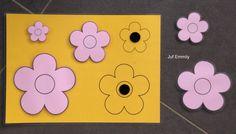 Zoek dezelfde bloemen (Juf Emmily)