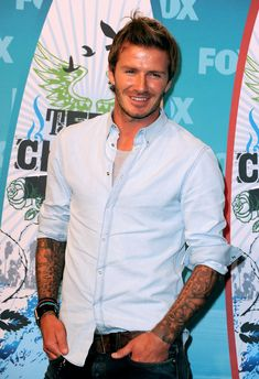 David Beckham Button Down Shirt