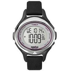 Timex Women Ironman All Day Sleek 50-Lap Watch - Black - http://www.specialdaysgift.com/timex-women-ironman-all-day-sleek-50-lap-watch-black/
