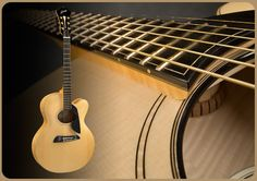 SoHo 16 handmade acoustic archtop guitar by Schneider Guitars.