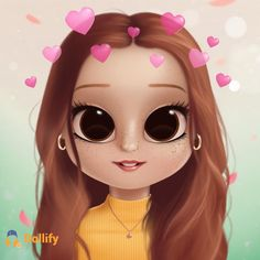 Another doll she is amazing right Kawaii Girl Drawings, Bff Drawings, Cute Animal Drawings Kawaii, Cute Little Drawings, Cute Girl Drawing, Cartoon Girl Drawing, Cartoon Drawings, Cartoon Art, Cartoon Girl Images