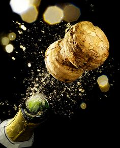 Love the sound of Champagne corks popping...