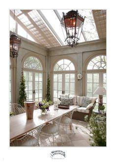 Marston & Langinger Orangery & Interior M&L Victoriana Wire Chairs