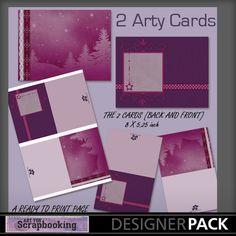 Arty Cards Christmas 1