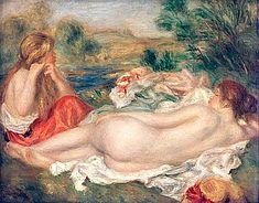 Pierre-Auguste Renoir - Two Bathers