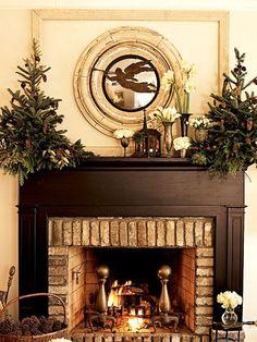 South Shore Decorating Blog: 30 Christmas Mantels