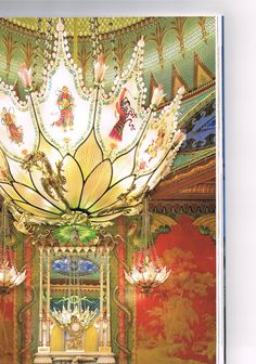 Chandelier - image from The Royal Pavilion Brighton by Brighton and Hove City Council