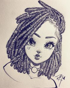 Likes 101 Comments Christina Lorre RawSueshii on Girl Drawing Sketches, Pencil Art Drawings, Cartoon Drawings, Cartoon Art, Easy Drawings, Drawing Art, Girl Drawings, How To Draw Sketches, Drawing Tips