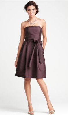 fdfad0b0ac Love this dress from Ann Taylor Purple Bridemaids Dresses