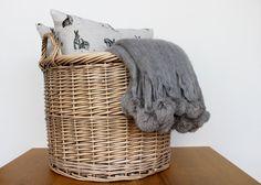 www.waringsathome.co.uk Laundry Basket, Wicker, Organization, House Styles, Home Decor, Getting Organized, Organisation, Decoration Home, Room Decor
