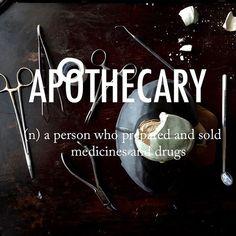 Apothecary |əˈpäTHiˌkerē| late Middle English via Old French from late Latin apothecarius, from Latin apotheca, from Greek apothēkē 'storehouse.' . . #beautifulwords #wordoftheday #dadhobby #birdeye #apothecary #surgery #ceramics #weekendgram #timewithdad