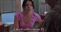 "See also: COFFEE. | Community Post: The Stages Of Getting Ready For The ""Gilmore Girls"" Netflix Explosion"