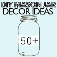 Everything you can think of using glass jars
