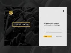 Construction App Login by Jorge Peña