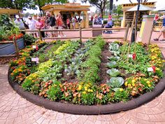 Florida Fresh area at the 2015 Epcot International Flower& Garden Festival at the Walt Disney World Resort