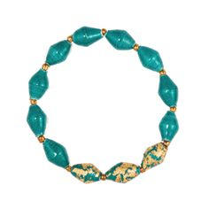 Forest Green Morning Glory Bracelet by 31 Bits - SET & STYLE (Free Shipping)