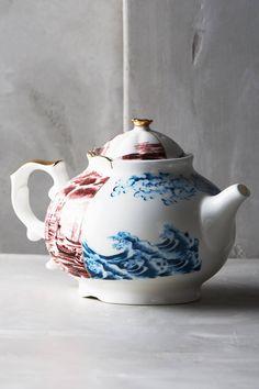 Unlikely Symmetry Tea Set - anthropologie.com