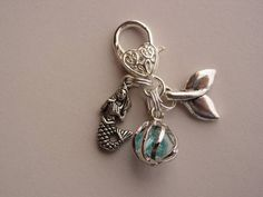 H2O Just Add Water Key Chain Tag Cell Phone Purse Coat Pull