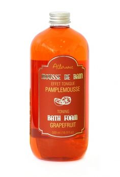 Grapefruit Bath Foam! FB/herbalhomeboutique