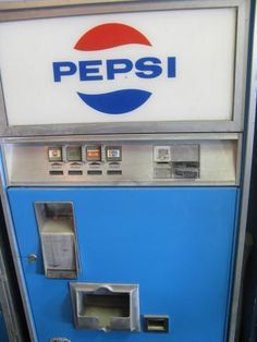 10 Cents for a bottle of Pepsi from the Machine at Peter's Market in Cold Spring