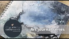 Art journal series - Full process - Creating an abstract landscape painting in acrylics Abstract Painting Techniques, Abstract Landscape Painting, Painting Videos, Painting Lessons, Landscape Paintings, Abstract Art, Using Acrylic Paint, Mixed Media Painting, Contemporary Paintings
