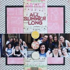 paper: pretty paper. true stories. {and scrapbooking classes with cupcakes.}: Sketch to Scrapbook Page :: Scrapbooking with a central focus