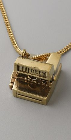 Polaroid necklace that I want some day!