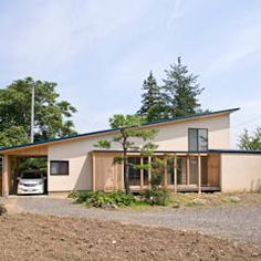 10 modern bungalows you can build on a low budget Japan House Design, Village House Design, Village Houses, Bungalows, Style At Home, Japanese House, Building A House, Garden Design, Home And Garden