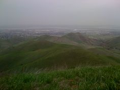 Looking At Antioch from the hills