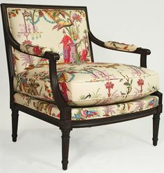 Chinoiserie chair - fabulous!