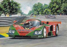 Le Mans 1991 - Mazda 787